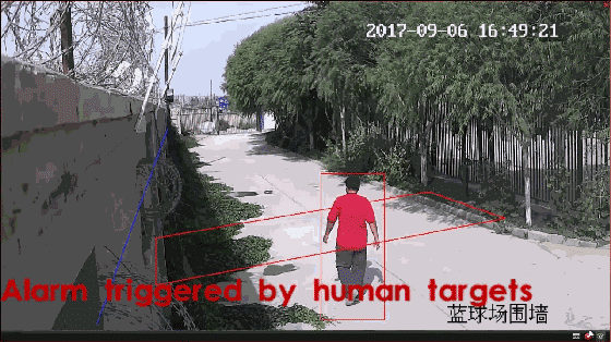 Alarm-triggered-by-human-targets